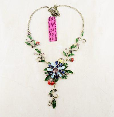 "Blütencollier ""Ladybug"" von Betsey Johnson"