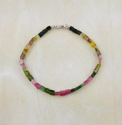 Multicolor Turmalin Armband