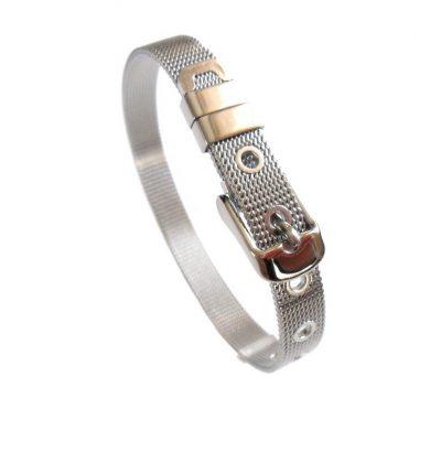 Edelstahl Armband unisex verstellbar - Schmuck
