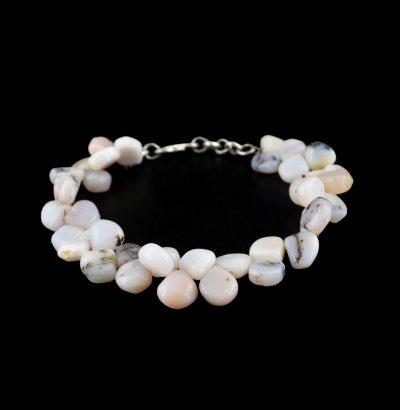 Natur Opal Armband handgefertigt Einzelstück Schmuck