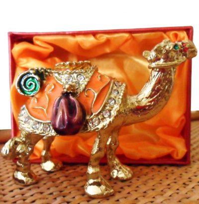 Handgefertigte Schmuckbox Kamel Sammlerstück Geschenkidee Geschenkartikel